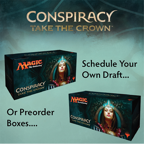 Preorder Conspiracy Take the Throne Today!