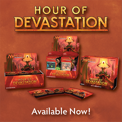 Hour of Devastation Now Here!