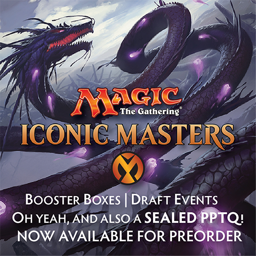 Iconic Masters Now Available for Preorder