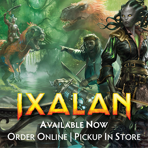 Ixalan Online Orders Now Available