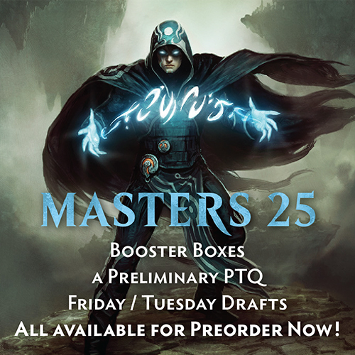 Masters 25 Now Available for Preorder