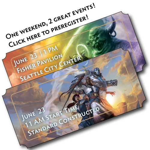 June 23rd - Two Tournaments, one amazing weekend!