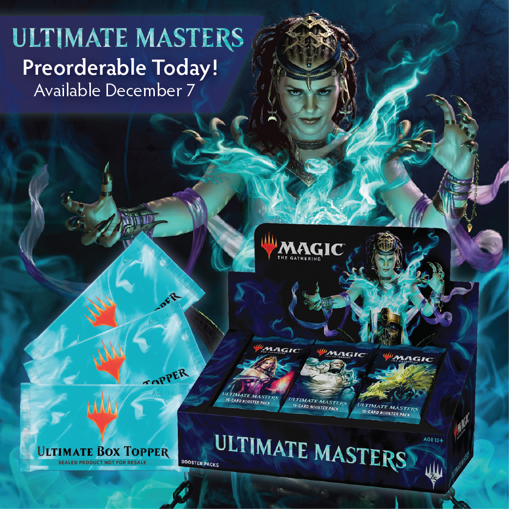 Ultimate Masters now available for Preorder!