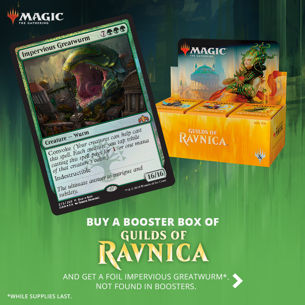 Preorder Guilds of Ravnica Today, Pick-up During Prerelease!