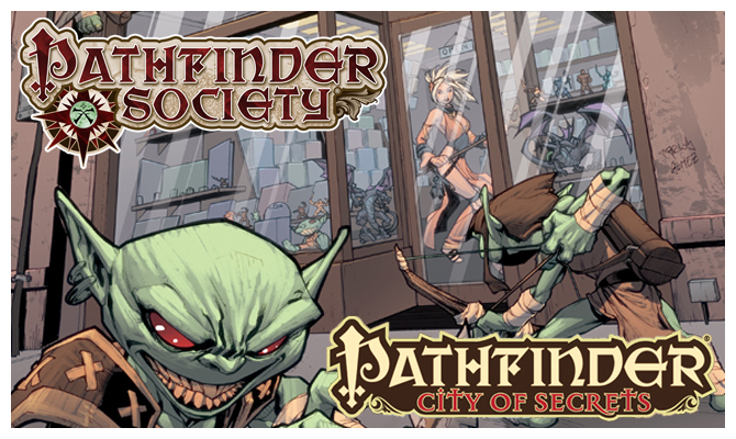 Pathfinder CIty of Secrets