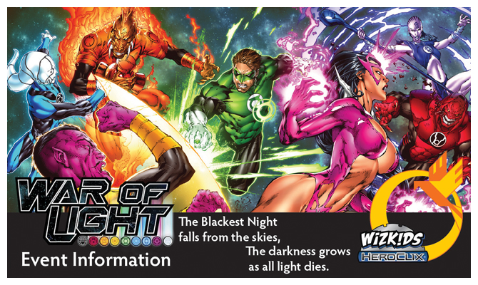 War of Light Blog Header