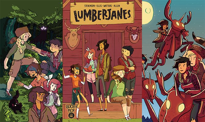 HEY KIDS COMICS Lumberjanes