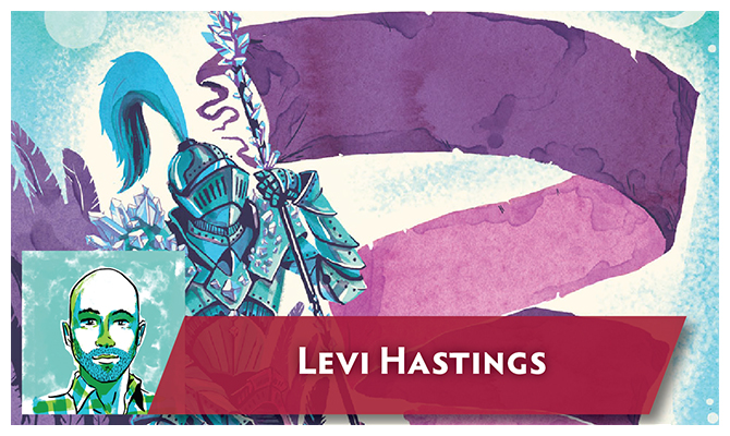 Artist Signs-Levi Hastings