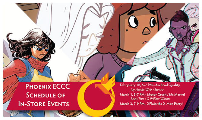 Emerald City Comic Con Schedule Events