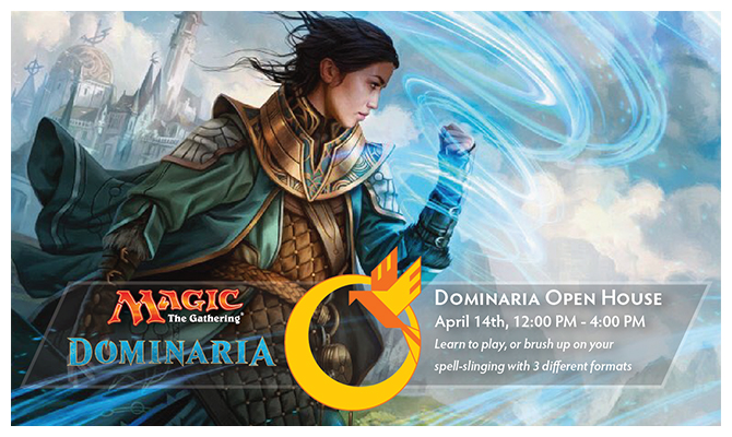 Dominaria Open House Header