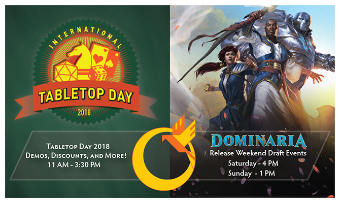 Dominaria Release Weekend TTD Header