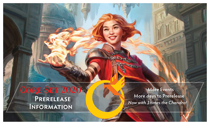Core Set 2020 Prerelease Information